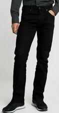 Levis premium 527 Slim Bootcut Denim mens Jeans In Black, W38, L32 (39)