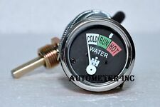 International Harvester Temperature Gauge Fits Many Farmall & IH Models