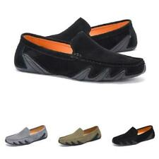 New Mens Pumps Slip on Loafers Soft Comfy Faux Leather Driving Moccasins Shoes L