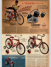 1964 PAPER AD Bike Bicycle Hawthorne Motor Sound Wagon Stake Coaster Tractor