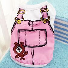 XS-XXL Small Pet Dog Apparel Vest Puppy Cat Coat Clothes T-shirt Summer Vest