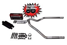 """Ford F150 04-14 3"""" Dual Exhaust Kit Flowmaster Super 44 Muffler"""