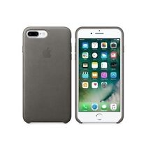 """STORM GREY Leather Case/ Leather Case For iPhone 8 Plus/ iPhone 7 Plus  -5.5"""""""