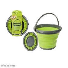 Pop Up Bucket. Lime for Camping Caravans & Motorhomes