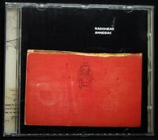 Radiohead Amnesiac CD Album 2001,Knives Out,Pyramid Song,Life In A Glasshouse