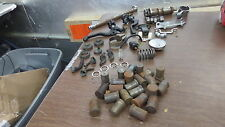 Vintage Used Miscellaneous Motorcycle Levers Shift Drum Axle Etc Parts Lot