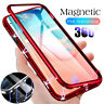 360° Full Magnetic Adsorption Metal Tempered Glass Case For Samsung Note 10 Plus