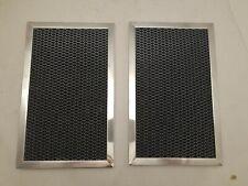 (Set of 2) OEM Whirlpool WP58001086 Microwave Carbon Filter