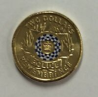2019 RAM Police $2 Remembrance coin - UNC