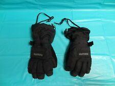Burton Insane Membrane Dry Ride Kids Large Snowboard / Ski / Snow Gloves Black