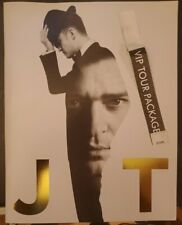 Justin Timberlake The 20/20 Experience World Tour 2014 Photo Book & Vip Access
