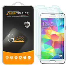 3X Supershieldz Samsung Galaxy S5 Tempered Glass Screen Protector Saver