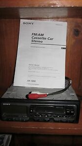 Sony FM/AM Cassette Car Stereo XR-1890 Classic