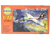SMER Suchoj Su-25 K, Erd-Kampfflugzeug, 0927, Bausatz 1:72