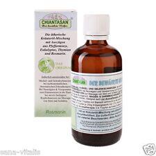 CHIANTASAN, Kräuteröl mit Eukalyptus Pfefferminze Rosmarin & Thymian, 100ml