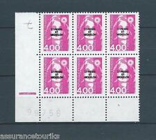 SAINT PIERRE ET MIQUELON - 1992 YT 556 - BLOC DE 6 - TIMBRES NEUFS** LUXE