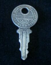 OEM Ignition Switch KEY #50 from Briggs & Stratton Series #31-54, 1920's Vintage