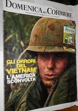 LA DOMENICA DEL CORRIERE 9 dicembre 1969 Orrori della Guerra del Vietnam Song My
