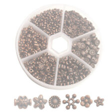330pcs Antiqued Copper Metal Daisy Flower Star Spacer Beads for Jewelry Making