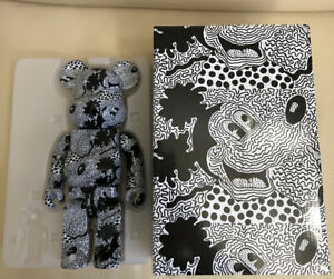 Keith Haring Mickey Mouse Bearbrick 400% only Medicom rare authentic US Seller