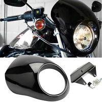 """Scheinwerfer Verkleidung Lampenmaske Für 5 3/4"""" Scheinwerfer Harley Davidson"""