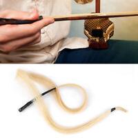 Natural Horse Hair Mongolia Horsetail Hair for Violin Viola Cello Erhu Bow Hairs
