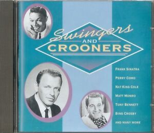 Swingers & Crooners -Various Artists inc Bing Crosby,Pat Boone & more-CD