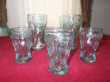 Set of 8 Coke Cola Glasses