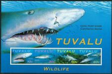 TUVALU - 2000 WWF 'SAND TIGER SHARK' Miniature Sheet MNH [6392]