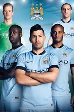 SOCCER POSTER Manchester City Players 2015 24x36 Poster Service