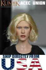 KUMIK Milla Jovovich 1/6 Head Sculpt For Hot Toys Phicen Female Body U.S. SELLER