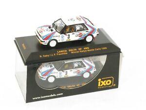 1/43 Lancia Delta HF 4wd Martini  Winner Rally Monte Carlo 1988  B.Saby