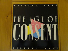 Bronski Beat The Age of Consent Original Vinyl LP Jimmy Sommerville 1984 London