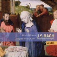 HERREWEGHE/COLLEGIUM VOCALE - WEIHNACHTSORATORIUM - J.S. BACH 2 CD 65 TRACKS NEU