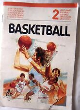 65468 Instruction Booklet - Basketball - Atari 2600 / 7800 (1978)