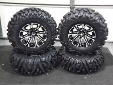 "25"" QUADKING ATV TIRE & STI HD3 WHEEL KIT LIFETIME WARRANTY  IRSL5 BIGGHORN"