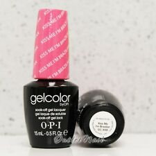 OPI GelColor Brazil Glamazons Collection 2014 - KISS ME I'M BRAZILIAN GC A68