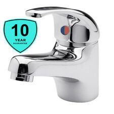 Sink Basin Mixer Mono Tap Chrome Inc Pop Up Plug Waste Low Pressure Lever Handle