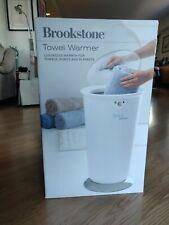 Brookstone Oversized Towel Warmer NIB 647156