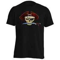 Pirate Captain Essential Ship Sea Art Men's T-Shirt/Tank Top d731m