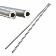 2pcs Silver 304 Stainless Steel Capillary Tube 4mm OD 3mm ID 250mm Length