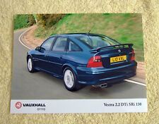 Vauxhall Vectra B Press Photo, 2001 SRi 2.2 DTi