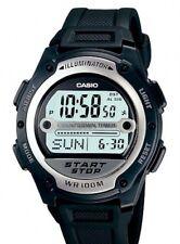 Casio W-756-1A Orologio, Arbitro,allarme,Batt.10 Anni