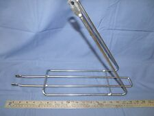 "Bicycle Rear Carrier Rack fits Schiwinn's and 1960's 26"" chrome plated"