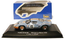 Ixo LM1969 ford GT40 #6 1969 le mans winner 1969-ickx/oliver échelle 1/43