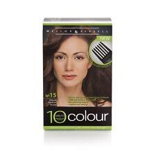 3xMellor &Russell 10 Minute Colour No.15 Natural Medium Brown Permanent hair dye