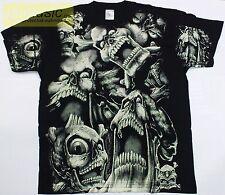 = t-shirt !!! SKULLS !!! / SKULL  ALLPRINT - CZACHY koszulka XL size /