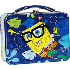 Spongebob Metal Lunch Box [Glasses]