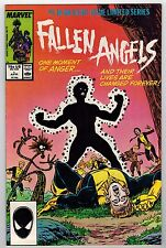 FALLEN ANGELS #1, #2, #3, #4 - KERRY GAMMILL ART & COVERS - 1987