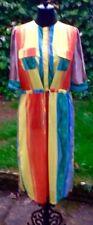 🌈Multi Colour Silky Dress XXL🌈